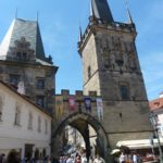 Entrance to Charles Bridge by Varun Sharma, V-Lux 20