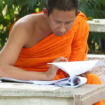 Even monks have paperwork