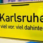 """karlsruhe schild © Andreas """"Bär"""" Läsker"""