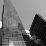 This trip, I toyed with black & white photography - this is the black skyscraper known as Trump Tower. Situated at 721 5th Avenue, it's 58 stories tall! By Varun Sharma