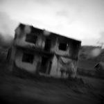 Srebrenica – a bombed house. Taken by Andy Spyra