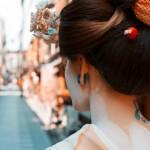 Modern Geisha (color) © John Lou Miles