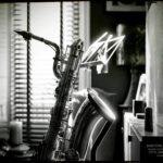 My baritone sax by Laurent Hunziker