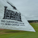 The flag at the 16th hole on the Carnegie Golf Course - founded in 1898. By Varun Sharma