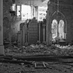 A destroyed mosque in Deir Ezzor/Syria