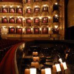The orchestra pit & boxes at The Prague State Opera House by Varun Sharma, V-Lux 20