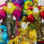 Mardi Gras dolls, New Orleans by Tom Grill