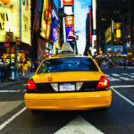 New York City taxi by Tom Grill